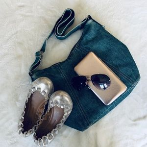 GAP Denim Cross Body Handbag